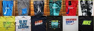 NIKE BOYS SIZE 4 ~ SHORTS ~ T-SHIRTS ~ DRI-FIT ~ NWT ~ $267  12 PIECES