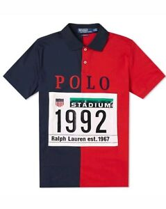 Polo By Ralph Lauren Stadium 1992 Polo Shirt P Wing XL New With Tags