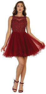 NEW BRIDESMAIDS SHORT PROM HOMECOMING GRADUATION SEMI FORMAL COCKTAIL CUTE DRESS