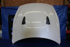 2009-2016 NISSAN GT-R R35 OEM FACTORY WHITE HOOD ASSEMBLY #1082
