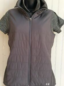 NWT UNDER ARMOUR WOMENS GOLFTENNISFITNESS SHIRT & VEST $44.99 SIZE SMALL