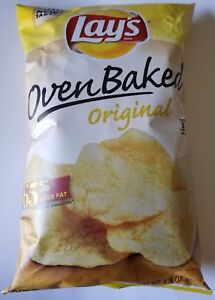 NEW Lay#x27;s Oven Baked Original Flavored Potato Chips Snacks FREE WORLD SHIPPING