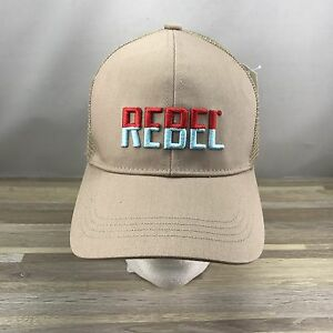 REBEL Lures Trucker Cap Hat Adjustable One Size