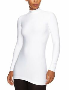 Under Armour Womens ColdGear Compression Mock WhiteSilver X-Large