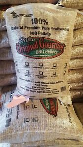 Milt's bbq pellets 20 lb rosemary apricot, great on everything including fish