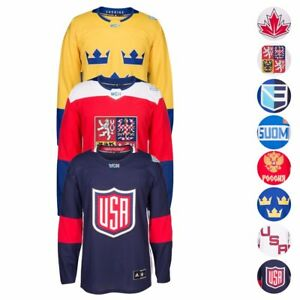 2016 NHL Adidas World Cup Of Hockey Premier Team Jersey Collection Men's