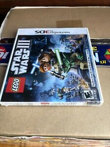 LEGO Star Wars III: The Clone Wars (Nintendo 3DS Brand New Factory Sealed