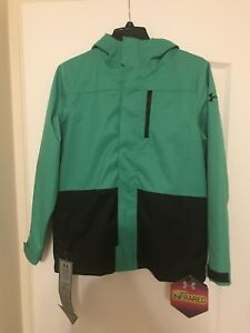 New Under Armour Boys Youth XL UA Storm  3-in-1 ColdGear Jacket