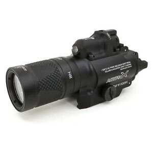 X400V-A-IRC Red Laser Tactical Light Multi-function Constant Momentary Strobe