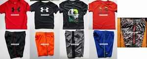 UNDER ARMOUR BOYS 3T SHORTS ~ 5 PAIRS SHORTS ~ 4 T-SHIRTS ~ BRAND NEW 9pc