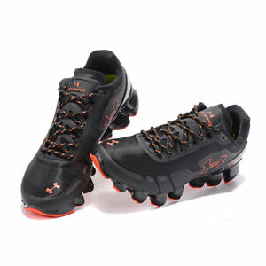 Men's Under Armour Mens UA Scorpio Running Shoes Black Red Leisure shoes US7-11