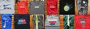 NIKE BOYS SIZE 4T ~ SHORTS ~ T-SHIRTS ~ DRI-FIT ~ NWT ~ $258~ 12 PIECES ~ NEW