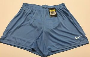 Women's Double Layer Dry-Fit Light Blue Color Short by Nike (small)