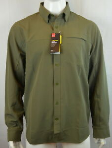 Under Armour Men's Storm XL Loose fit Tactical Shirt Military Green 390 NEW NWT