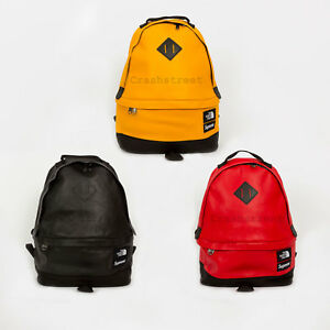 Supreme FW17 The North Face Leather Day Pack bag waist shoulder