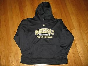 Boys Under Armour Hoodie Sweatshirt Vanderbilt size Youth XL loose fit
