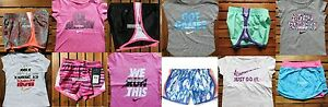 NIKE GIRLS ~ 3T or 4T *TEMPO RUNNING SHORTS ~ T-SHIRTS ~ 12pc ~ $275 SKORT ~ NWT