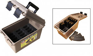 Ammunition Storage Hold 30 Round 2235.56 AR15 Mag Can Hunt Case Pouches Holder
