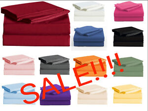 Persian Collection 1900 Count Sheet set Fitted Flat 16 Deep Pocket Wrinkle Free $20.78