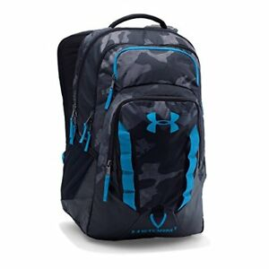 Under Armour Storm Recruit Backpack BlackRed One Size Water-resistant Padded