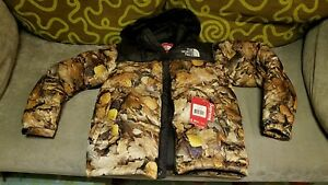BNWT SUPREME X NORTH FACE LEAVE NUPTSE DOWN JACKET S backpack sweater mountain