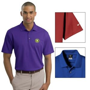 12 Custom Embroidered LOGO Nike Golf Tech Basic Dri FIT Polo Shirt $49.95 ea $599.40