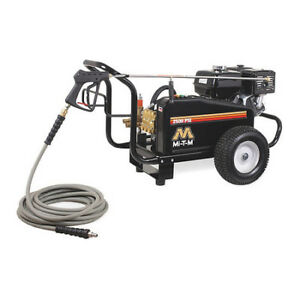 MI-T-M CW-2505-4MGH Medium Duty 2500 psi Cold Water Gas Pressure Washer