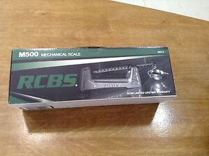 New RCBS Model M500 Mechanical Reloading Scale-(98915)
