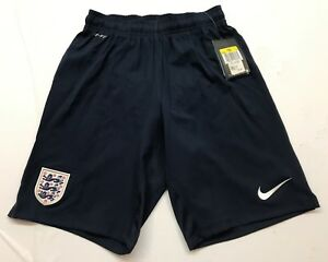 England International Home Team Dry-Fit Mens Soccer Navy Blue Short by Nike