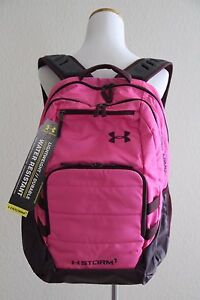 Under Armour UA Storm Camden Backpack Style # 1261826 Black  Pink