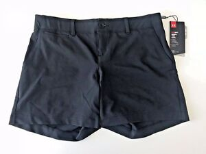 Under Armour Women's  Links Shorty Golf Shorts in Black Size 6 (Small) - NEW