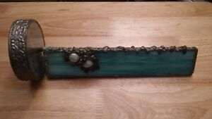 Hand-made KALEIDOSCOPE - One of a kind - made with pewter marble and crystals