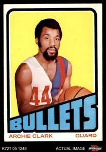 1972 Topps #120 Archie Clark  Bullets (Wizards) EXMT