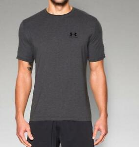 Under Armour Men's UA Charged Cotton Sportstyle T-Shirt 1257616 Carbon Heather