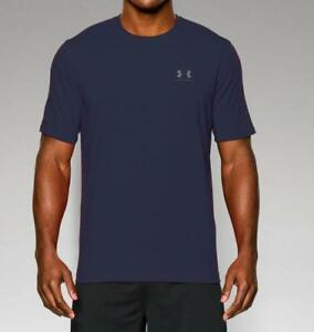 Under Armour Men's UA Charged Cotton Sportstyle T-Shirt 1257616 Navy