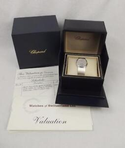 Gents 18ct White Gold Chopard Automatic Wrist Watch In Box c1970's