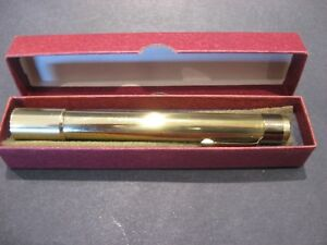 Eric Van Cort Insturments Pocket Brass Kaleidoscope Original Box