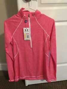 Woman's Under Armor Dry Fit Shirt Size Small