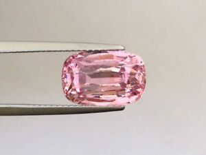 Unheated Gem Quality Padparadscha Sapphire 7.82 carats GIA Report