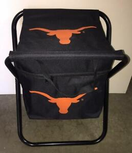 Texas Longhorns NCAA College Football Tailgate Party Gift Quad Cooler Chair
