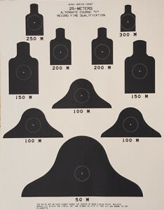 DOD M16A1 Series 25-Meters Alternate Course