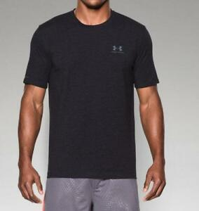 Under Armour Men's UA Charged Cotton Sportstyle T-Shirt 1257616 Black