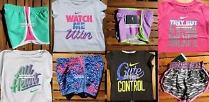 GIRLS 4 SUMMER CLOTHING ~ TEMPO RUNNING SHORTS ~ T-SHIRTS ~ Brand NEW $180