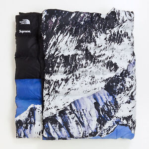 Supreme FW17 The North Face Mountain Nupste Blanket cap camp backpack box