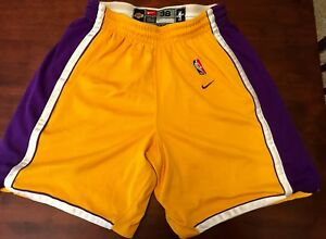 Authentic NBA Nike Dri-Fit Los Angeles Lakers shorts size 38