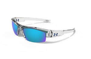UNDER ARMOUR SUNGLASS YOUTH NITRO CRYSTAL CLEARBLUE MULTIFLECTION 8600047-6003