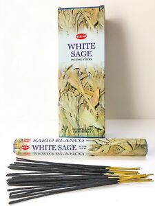 White Sage Incense Sticks by Hem Smudging Meditation Pick 20 60 80 100 140 200