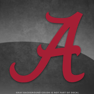 Alabama Crimson Tide Bama Vinyl Decal Sticker 4quot; and Up More Colors