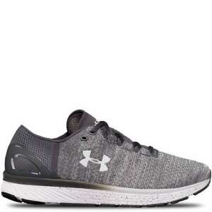 UNDER ARMOUR Charged Bandit 3 MENS WIDE running shoes Glacier Grey 8.5 - 13