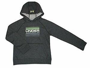 Under Armour Youth Boys Athletic Spring Hoodie S 8 Greylime
